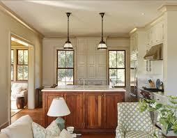 Neutral Kitchen Colors - country cottage with comfortable and neutral interiors home