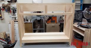 diy sideboard cabinet part 1 fixthisbuildthat