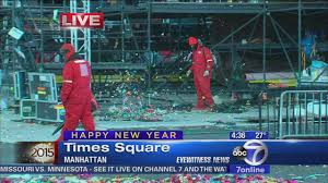 Times Square Map Nyc Rings In 2015 In Times Square Abc7ny Com