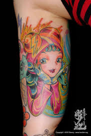 japan anime tattoo pictures to pin on pinterest tattooskid