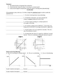 motion review worksheet speed time graphs by ian williamson tpt