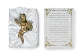 the indiana store at the indiana state museum cherub ornament