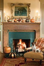 thanksgiving mantel fall fireplaces and mantels southern living