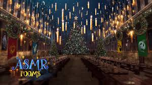 christmas at hogwarts great hall harry potter 1 hour holiday