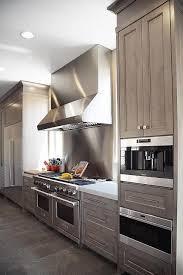 Best  Stainless Backsplash Ideas On Pinterest Stainless Steel - Stainless steel cooktop backsplash