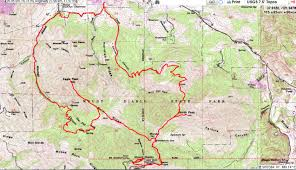 Mt Diablo State Park Map by Mountain Hiker Trip Report