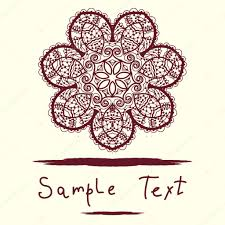 Islamic Invitation Card Invitation Card Delicate Mandala Floral Pattern Vector