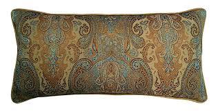 Eastern Accents Window R U0026mindustries Jewel Tapestry Cotton Lumbar Pillow Wayfair