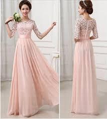 pink bridesmaid dresses pink bridesmaid dresses half sleeves lace bridesmaid dresses