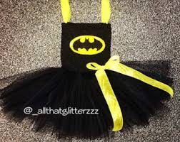 Batgirl Halloween Costume Accessories Batgirl Tutu Etsy