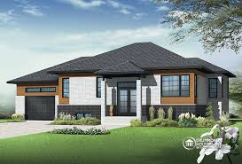 bungalow modern house plans home act