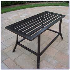 Patio Furniture Metal - patio metal patio table design ideas white round contemporary