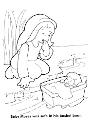 Moses Printable Coloring Pages In Moses Coloring Pages Coloring Bible Coloring Pages Moses