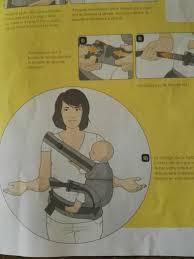 position siege bebe ventre manduca echarpe portage et porte bébé le de loulou