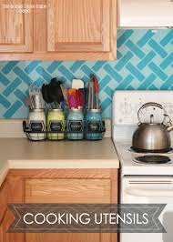kitchen utensil holder ideas best 25 kitchen utensil holder ideas on kitchen
