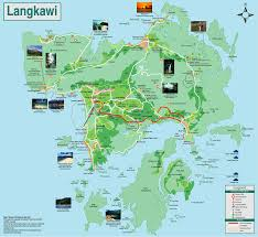 Map Of Malaysia Map Of Langkawi