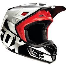 motocross helmets with visor all new fox racing 2015 v2 race helmet black gloss finish wide