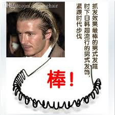 wholesale beckham favorite hair bands hair wavy men fluffy
