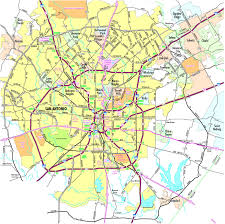 Texas City Map San Antonio Maps Texas Us Maps Of San Antonio Political Map Of