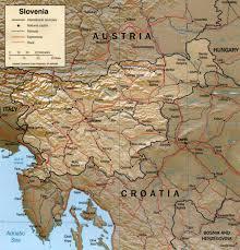 Us Physical Map Slovenia Physical Map U2022 Mapsof Net