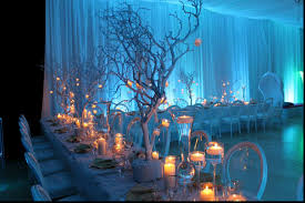 decorations blue christmas table decoration ideas for home wedding