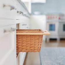 kitchen basket ideas pull out kitchen baskets design ideas