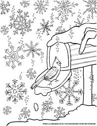 Winter Snowflake Coloring Page For Grown Ups A Free Printable Winter Coloring Pages Free Printable