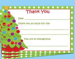 christmas thank you cards printable christmas thank you cards happy holidays