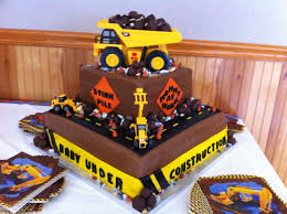 construction baby shower cakecreated baby construction shower cake