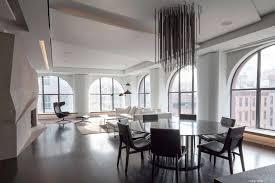 Tribeca Loft Sleek Tribeca Loft Redesign Features Undulating Walls And