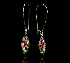 chapelle earrings philip zahm designs the beauty of color