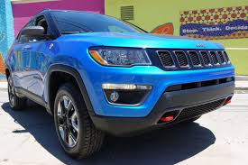 jeep compass 2017 trunk space 2017 jeep compass takes a heading to high style roadshow
