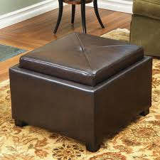 gray leather ottoman coffee table bench storage bench with tray top unique padded brown leather