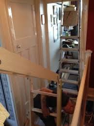 installation of a wooden loft ladder in benfleet essex