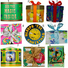 gift sets for christmas lush christmas collection 2015 products price list launch date