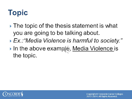 thesis statements chapter ppt video online download