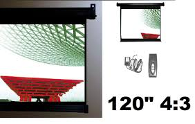 motorized home theater screen projection screens