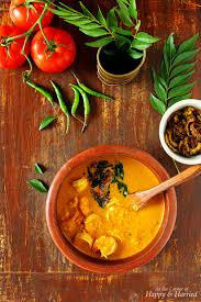 coconut curry kerala style chemmeen curry