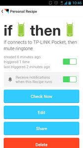 ifttt android ifttt for android review a promising start but not the ultimate