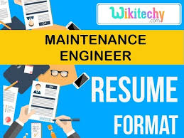 Sample Resume Maintenance by Resume Maintenance Engineer Resume Sample Resume Resume