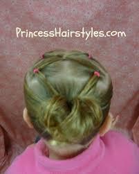 gymnastics picture hair style gymnastics hairstyles twist link ponytail hairstyles for girls