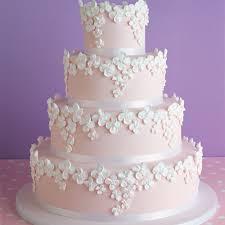wedding cake recipes pink wedding cake