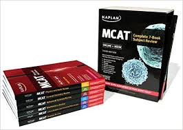 mcat complete 7 book subject review book kaplan test