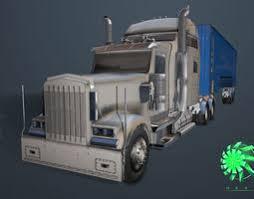 3d cartoon car monster truck army cgtrader