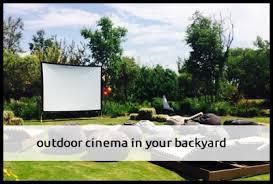 Backyard Movie Night Projector Movienight