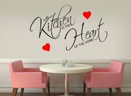 the kitchen heart wall sticker art mural decal 435 the kitchen heart wall sticker art mural decal 435