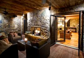 two sided fireplace indoor outdoor fireplace ideas