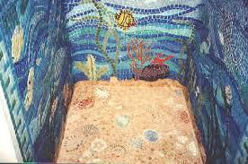 mosaic tile designs mosaic tile design shower installation underwater mosaic scene