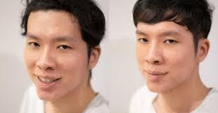 natural curls with a korean style men u0027s haircut