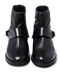 black leather biker boots h by hudson black leather mac biker boots jules b